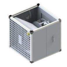 Кухонный вытяжной вентилятор с назад загнутыми лопатками  BKEF-R 400M, бренд: BVN, Турция
