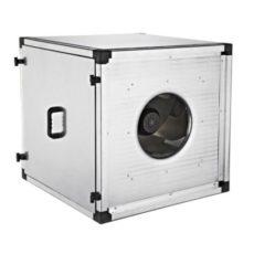 Квадратный канальный вентилятор с назад загнутыми лопатками  BKKF 400, бренд: BVN, Турция