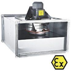 Прямоугольный канальный вентилятор с назад загнутыми лопатками BDKF-R -EX 400 T, бренд: BVN, Турция