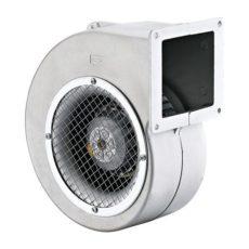 Радиальный вентилятор улитка BDRAS-B 140-60, с заслонкой, алюминиевый корпус, бренд: BVN, Турция