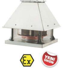 Взрывозащищенный крышный вентилятор BRCF-EX 800T, бренд: BVN, Турция